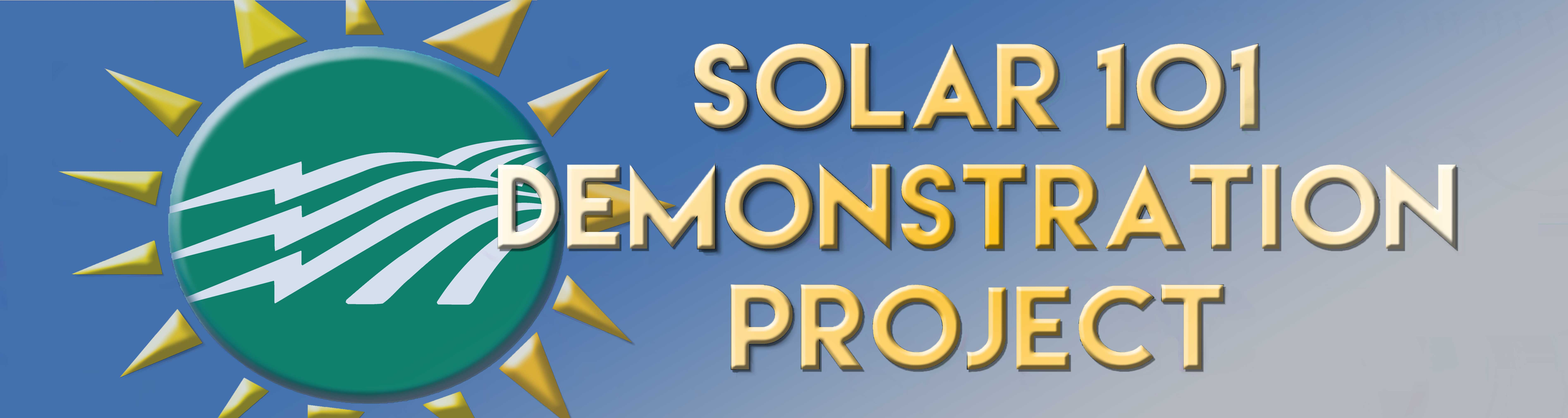Solar 101 Demonstration Project logo