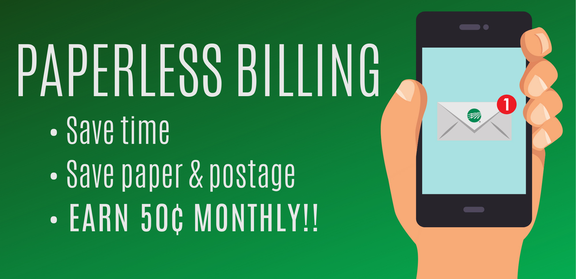 Benefits of Paperless Billing