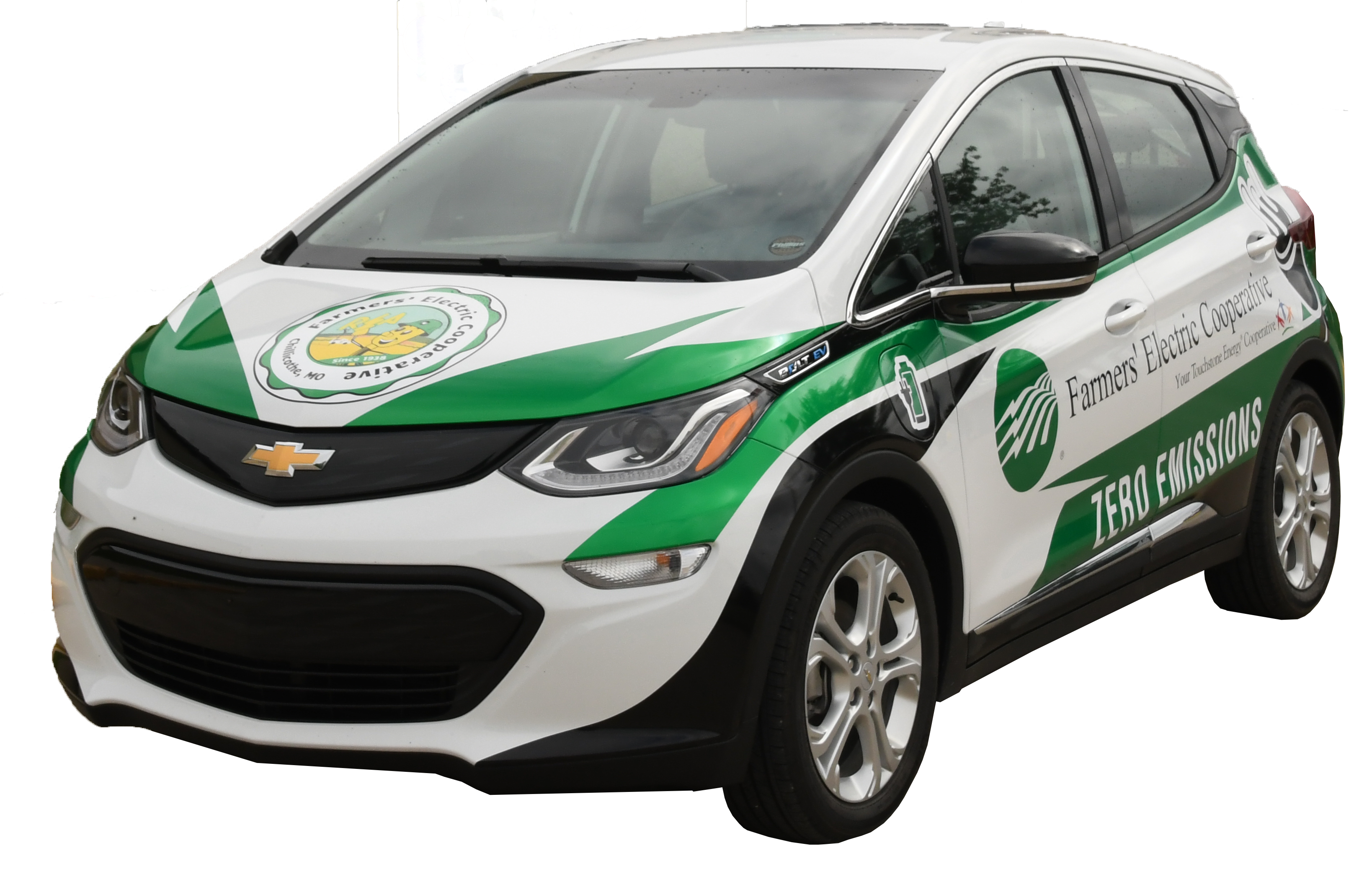 Farmers' Chevy Bolt Electric Vehicle